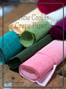 How Cool Is Crepe Paper?!