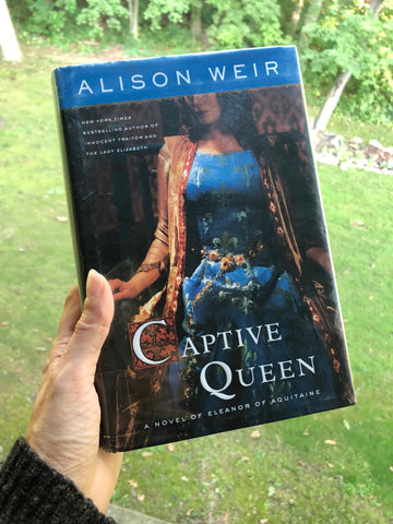 Captive Queen by Alison Weir cover