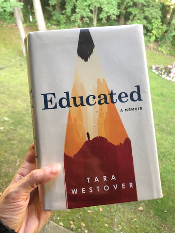 Educated by Tara Westover cover