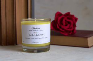 Belle's Library Hand-Poured Soy Glass Candle