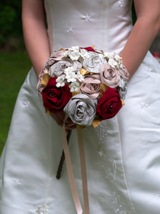 Harry Potter wand handled bridal bouquet