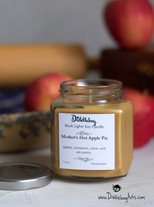 Mother's Hot Apple PieHand-Poured Soy Jar Candle