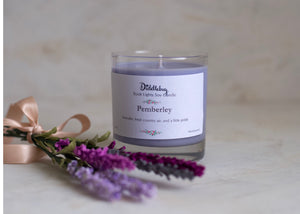 Pemberley Hand-Poured Soy Glass Jar Candle