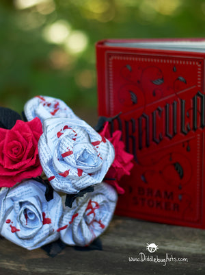 READY TO SHIP - Diddlebug Halloween Bouquet 2018 Edition- Dracula