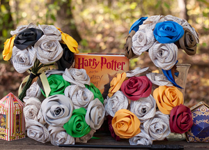 House Colors bridal bouquets Harry Potter