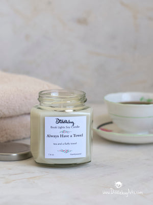 Always Have a Towel - 7.4 oz Hand-Poured Soy Hexagon Jar Candle