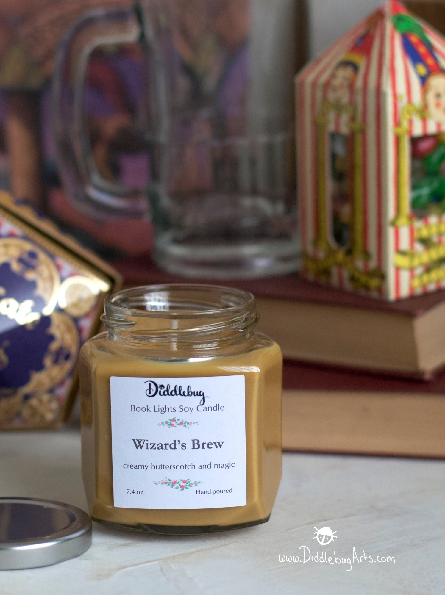 Wizard's Brew Hand Poured Soy Glass Jar Candle