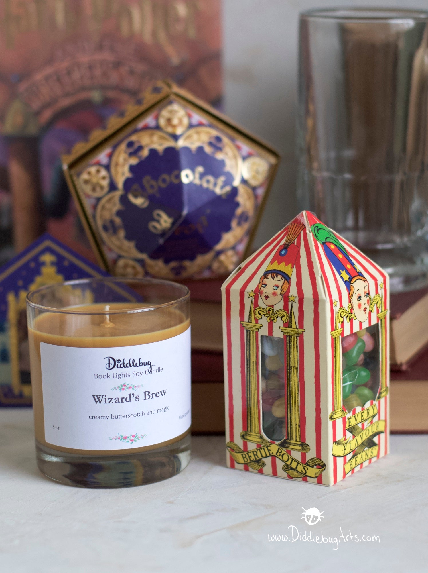 butterbeer scented candle