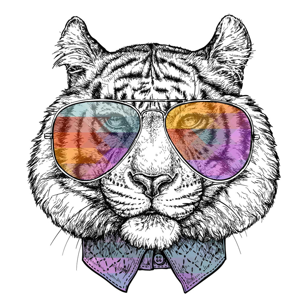 Fancy Tiger T-Shirt