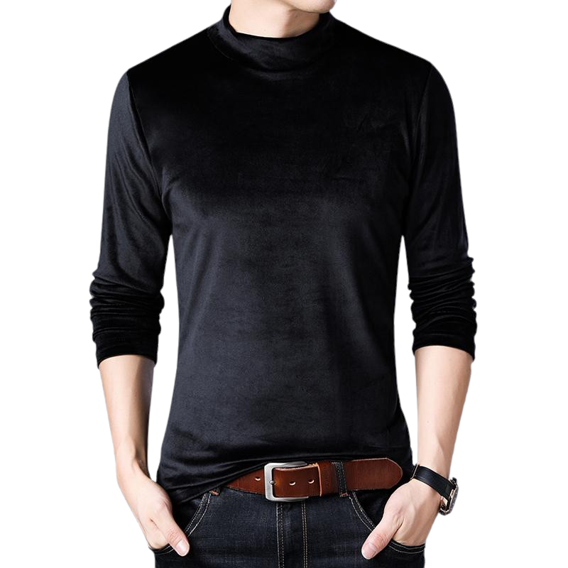 High Collar Casual Sweatshirt