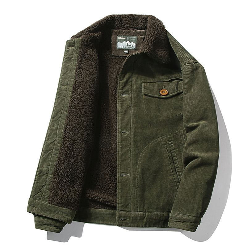 Retro Corduroy Jacket