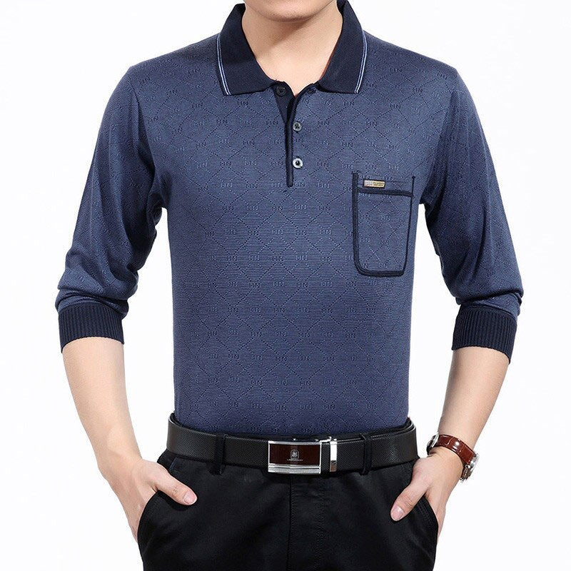 Filippo Long Sleeve Polo Shirt