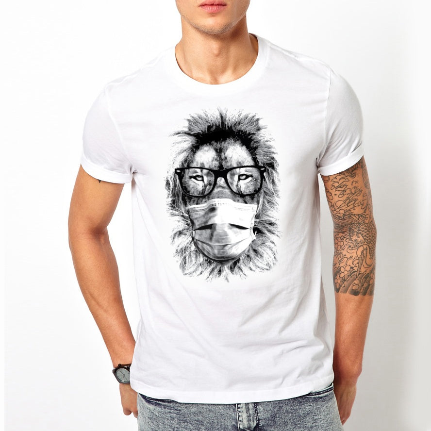 Masked Fashion Lion T-Shirt