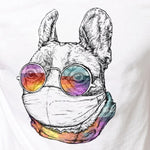 Masked French Bulldog T-Shirt