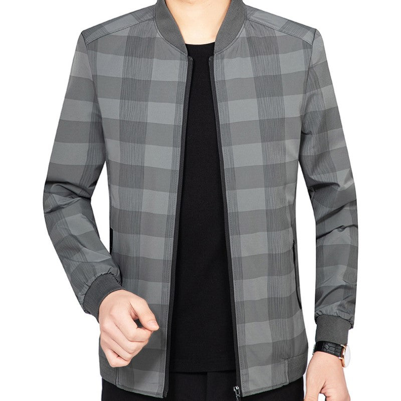 Stylish Checkered Jacket