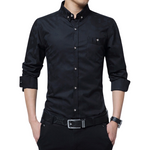 One Pocket Button Shirt