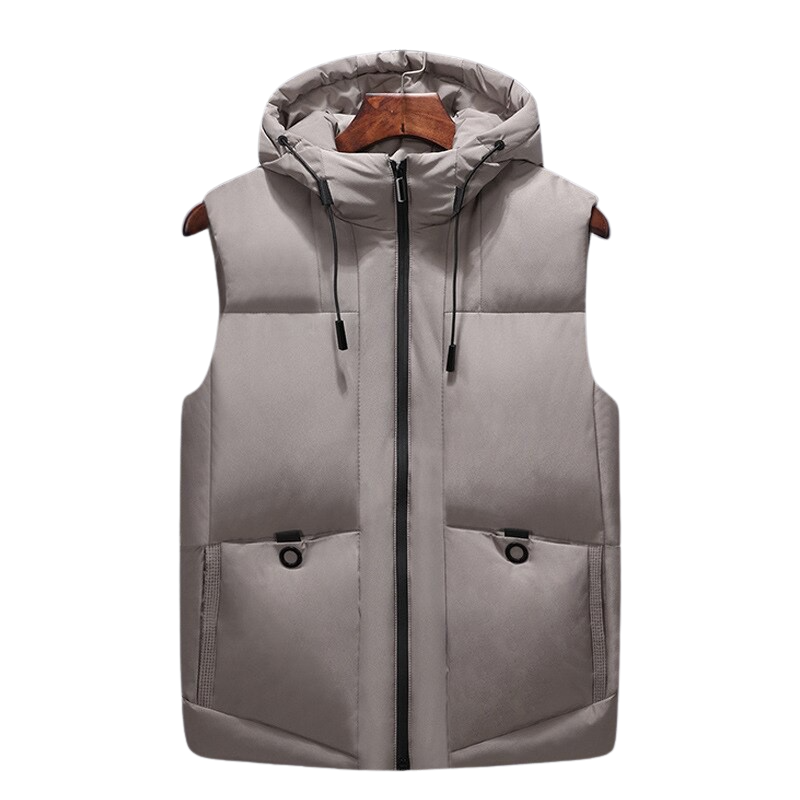 Hooded Thick Vest