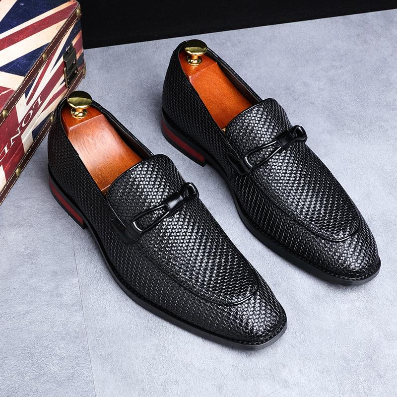Leather Oxford Loafers