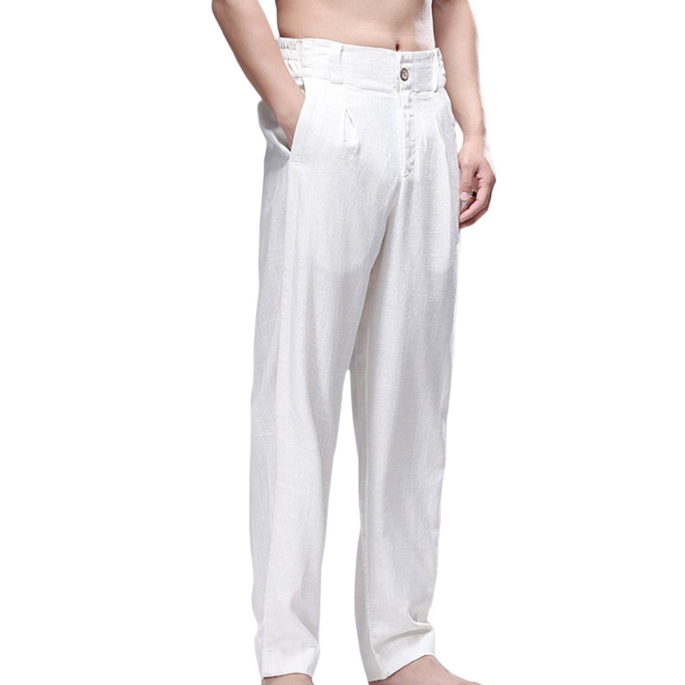 Light Summer Linen Blend Pants