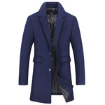 Elegant Thick Pea Coat