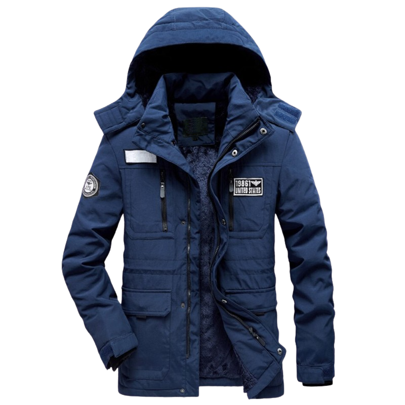 Warm Cotton-Padded Coat