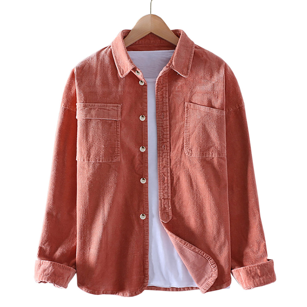 Double Pocket Corduroy Shirt