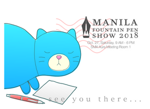 We Will Be at the Manila Fountain Pen Show 2018