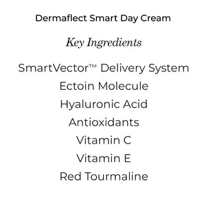 Dermaflect Smart Day Cream - Antioxidant & Hydrating Cream with Vitamin C & E, Protect Against UV Damage