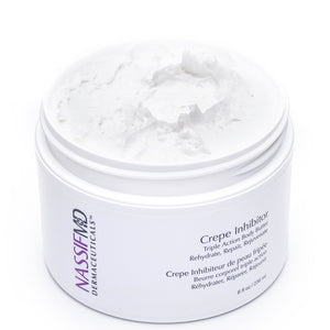 Crepe Inhibitor Triple Action Body Butter - Rehydrate, Repair, Rejuvenate Dry, Dehydrated Skin