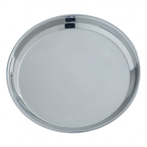 "10"" Dinner Plate - Stainless Steel (Set of 4)"
