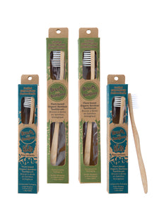 Brush with Bamboo - Family 4-pack