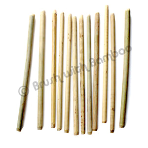 Bamboo Drinking Straws 12-Pack