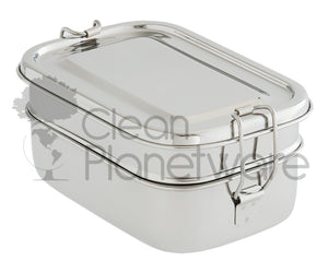 2-Layer Rectangular Lunch Box