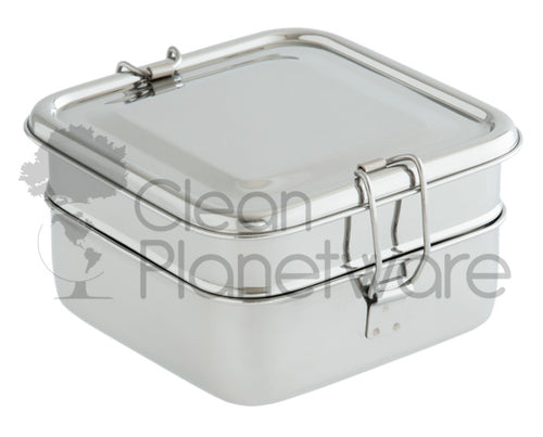2-Layer Square Lunch Box