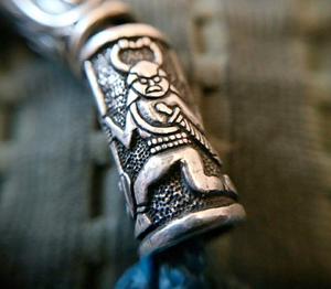 Viking beard beads