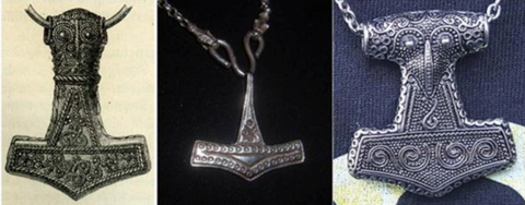 ancient Mjölnir jewelry