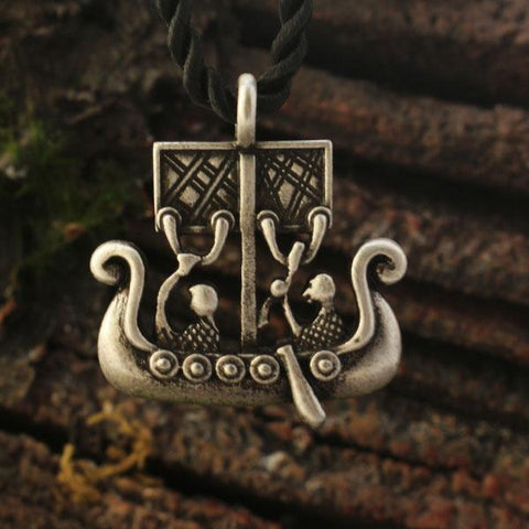 Viking Ship Pendant