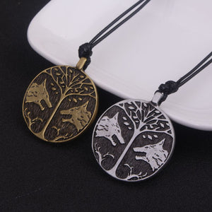 Wolf Friendship Necklace