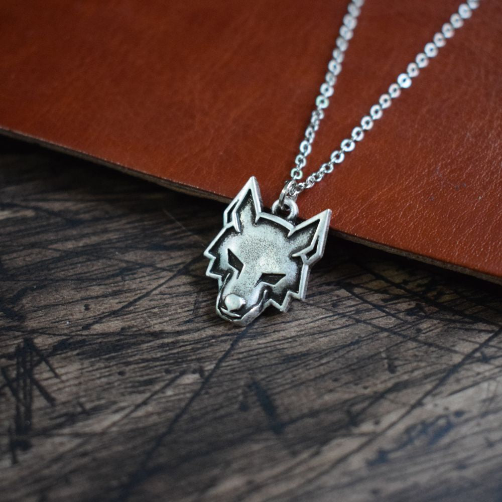 Celtic Wolf Necklace