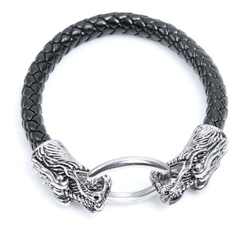 Dragon Head Bracelet-Viking Caulking