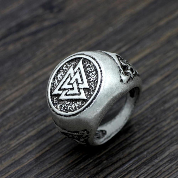 Norse Ring - Alloy-Viking Caulking