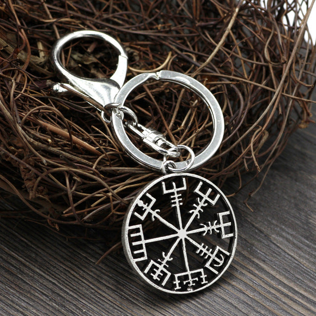 Viking Compass Keychain-Viking Caulking-Viking Caulking