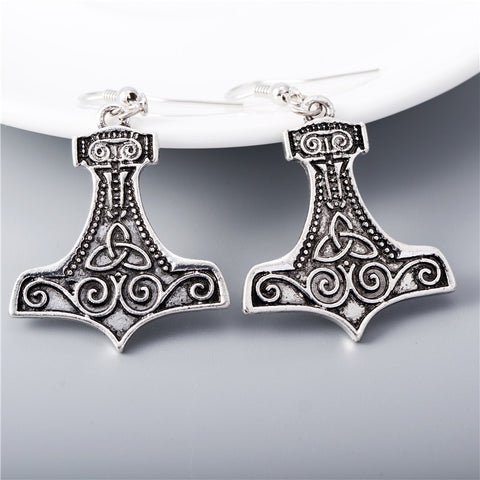 Mjolnir Earrings