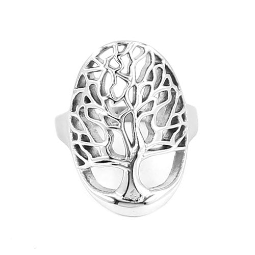 Celtic Tree of Life Ring-Viking Caulking-Viking Caulking