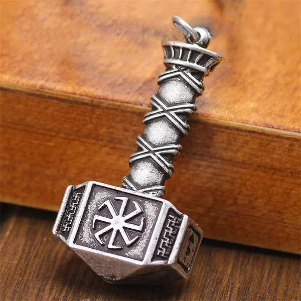 Hammer of Thor Pendant-Viking Caulking-Viking Caulking