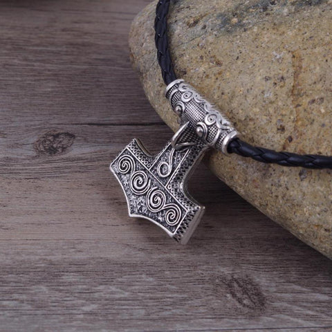 Thor's Hammer - Sterling Silver-Viking Caulking