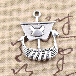 Viking Ship Pendant-Viking Caulking