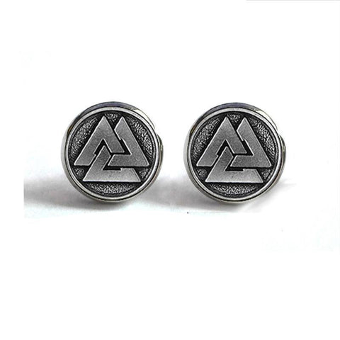 Valknut Earrings