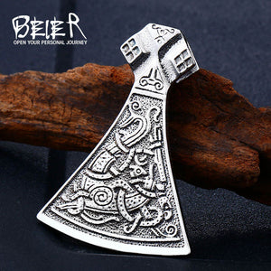Viking Axe Jewelry-Viking Caulking