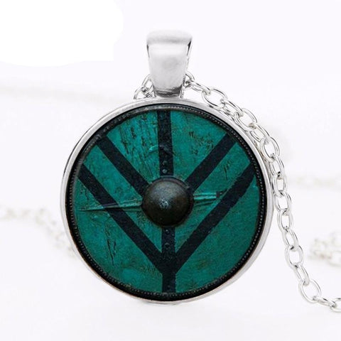 Viking shield Pendant-Viking Caulking